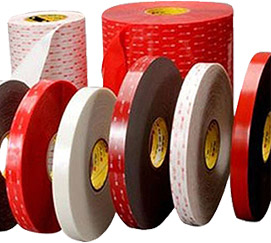 Selection of double sided adhesive tapes