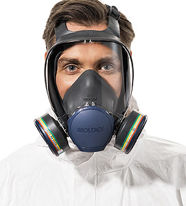 Full respiratory headgear safety protection