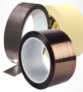 Collection of single sided adhesive tapes