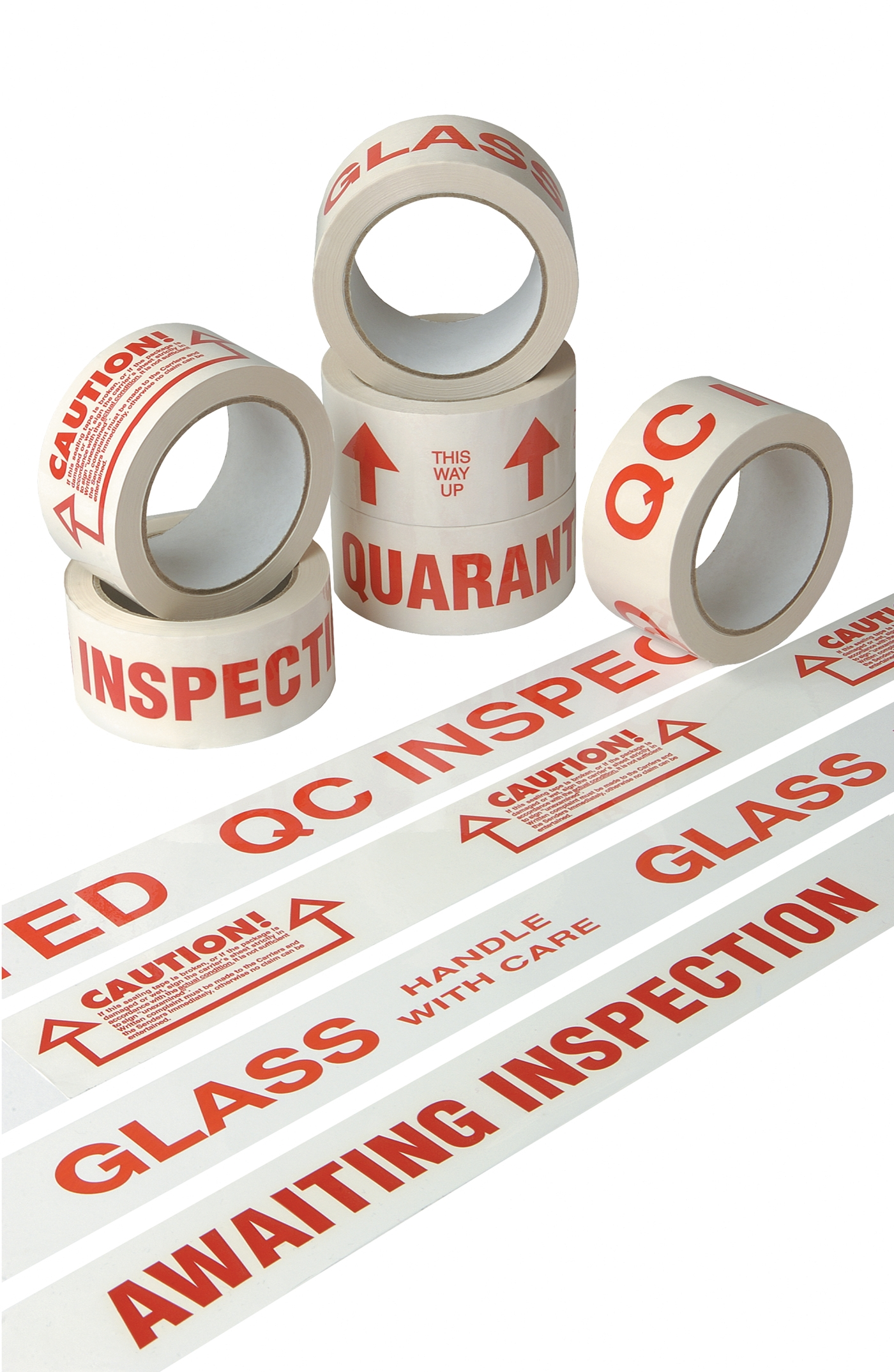 Standard Message Printed Tapes