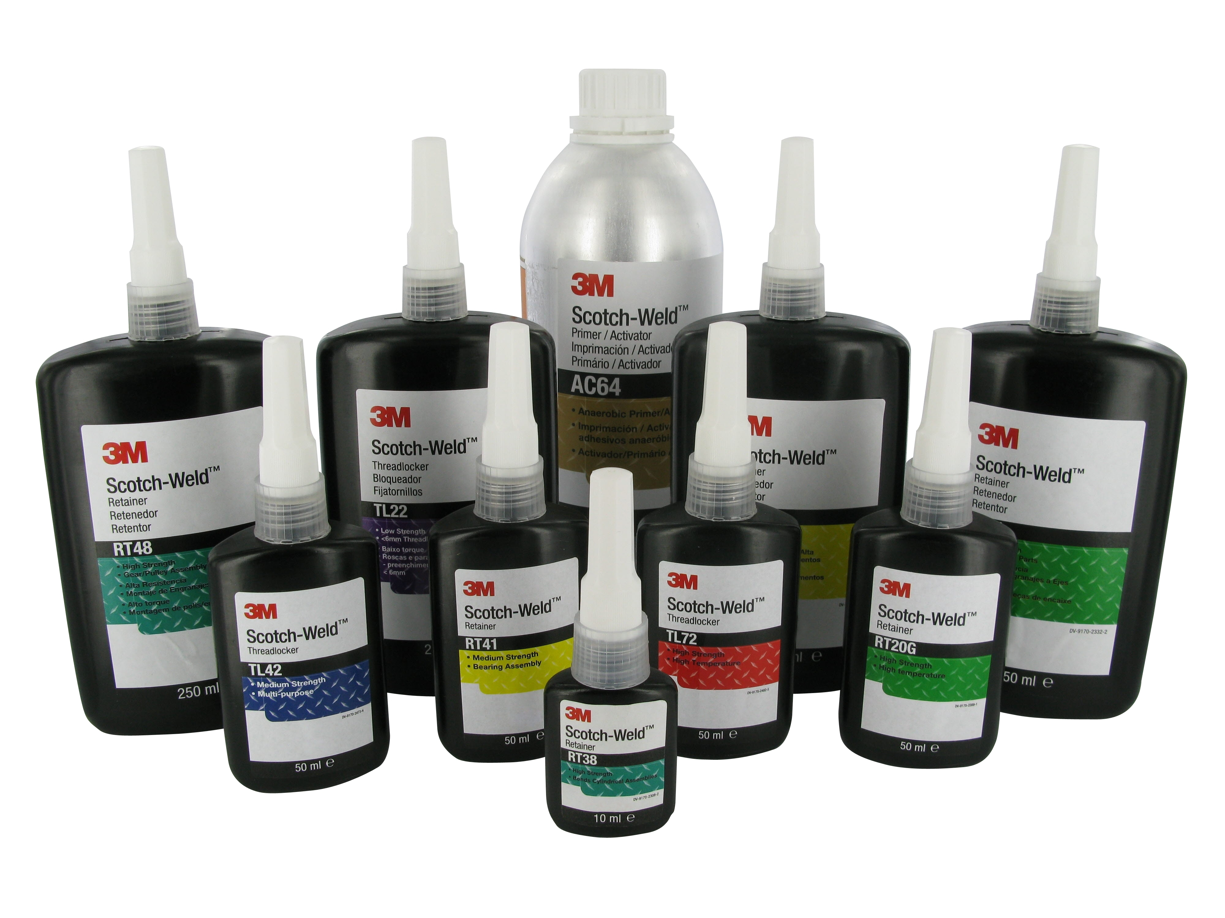 "3Mâ""¢ SCOTCH WELDâ""¢ ANAEROBIC ADHESIVES"