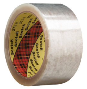 3M Scotch Box Sealing Tape 371 Transparent
