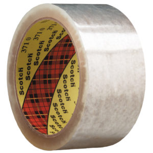 3M Scotch Box Sealing Tape 371 Transparent