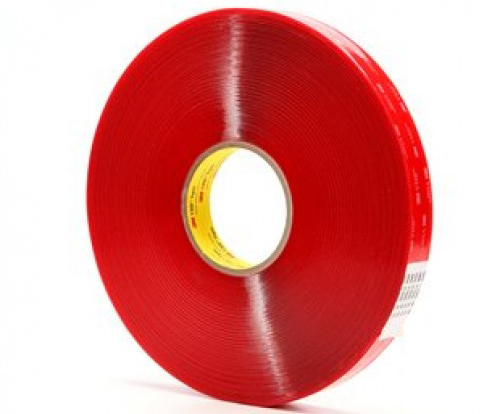 3M™ VHB™ Adhesive Transfer Tape 4905F Roll Red
