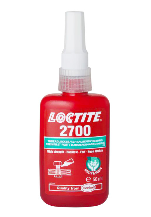 Loctite® 2700 Threadlocker Adhesive bottle