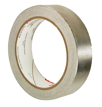 3M™ EMC Embossed Copper Foil Tape roll
