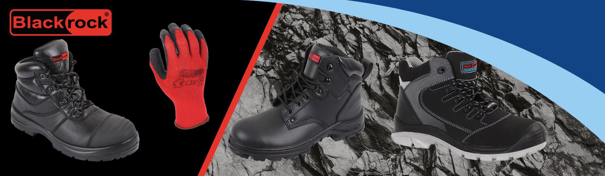 Blackrock® safety footwear and gloves banner