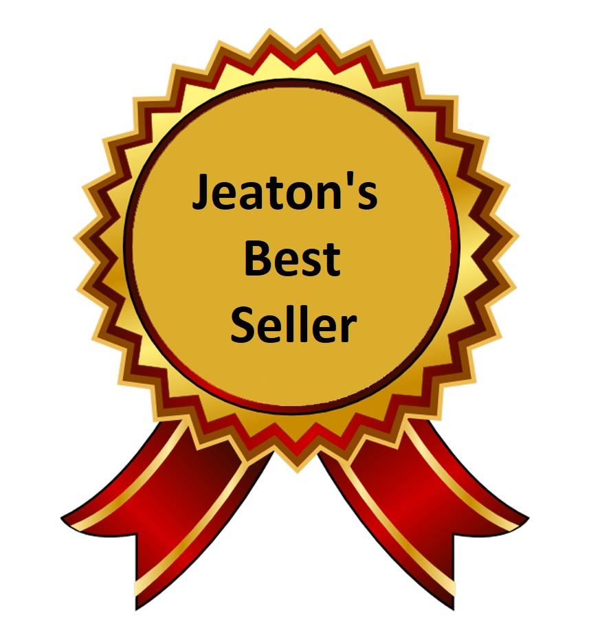 Jeaton's best seller logo